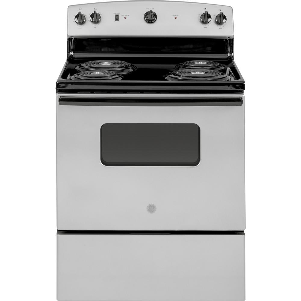 This Review Is From 30 In 5 0 Cu Ft Electric Range Silver