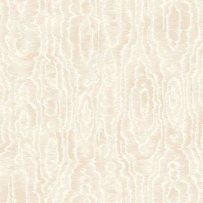 8 in. x 10 in. Salento Cream Abstract Wallpaper Sample