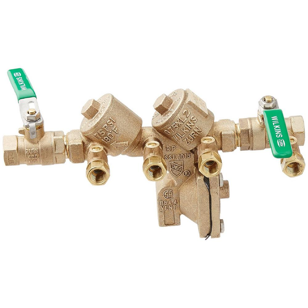 Wilkins 1/2 in  No Lead Backflow Preventer
