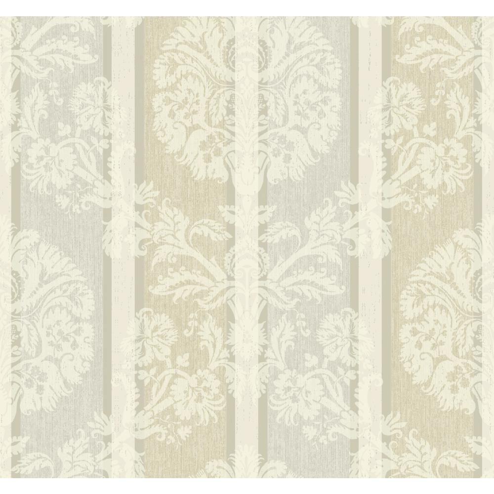 Carey Lind Vibe Woven Damask Stripe Wallpaper