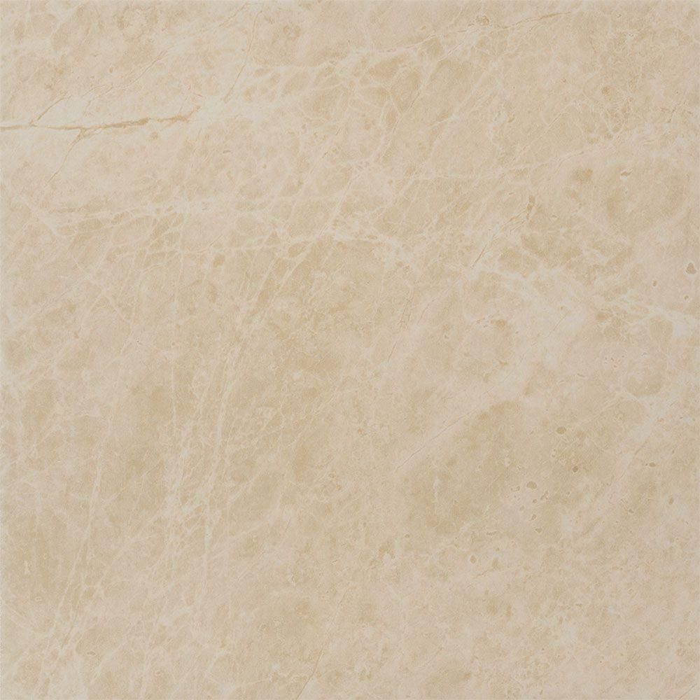 Favrales Beige 12 in. x 12 in. Porcelain Floor and Wall