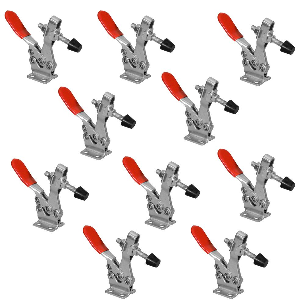 POWERTEC 500 lbs. Horizontal Quick-Release Toggle Clamp (10-Pack)