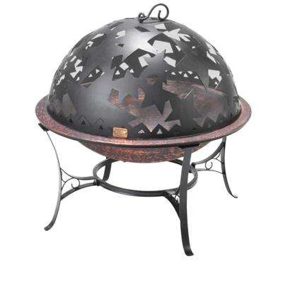 25.5 in. Small Starry Night FireDome Fire Pit
