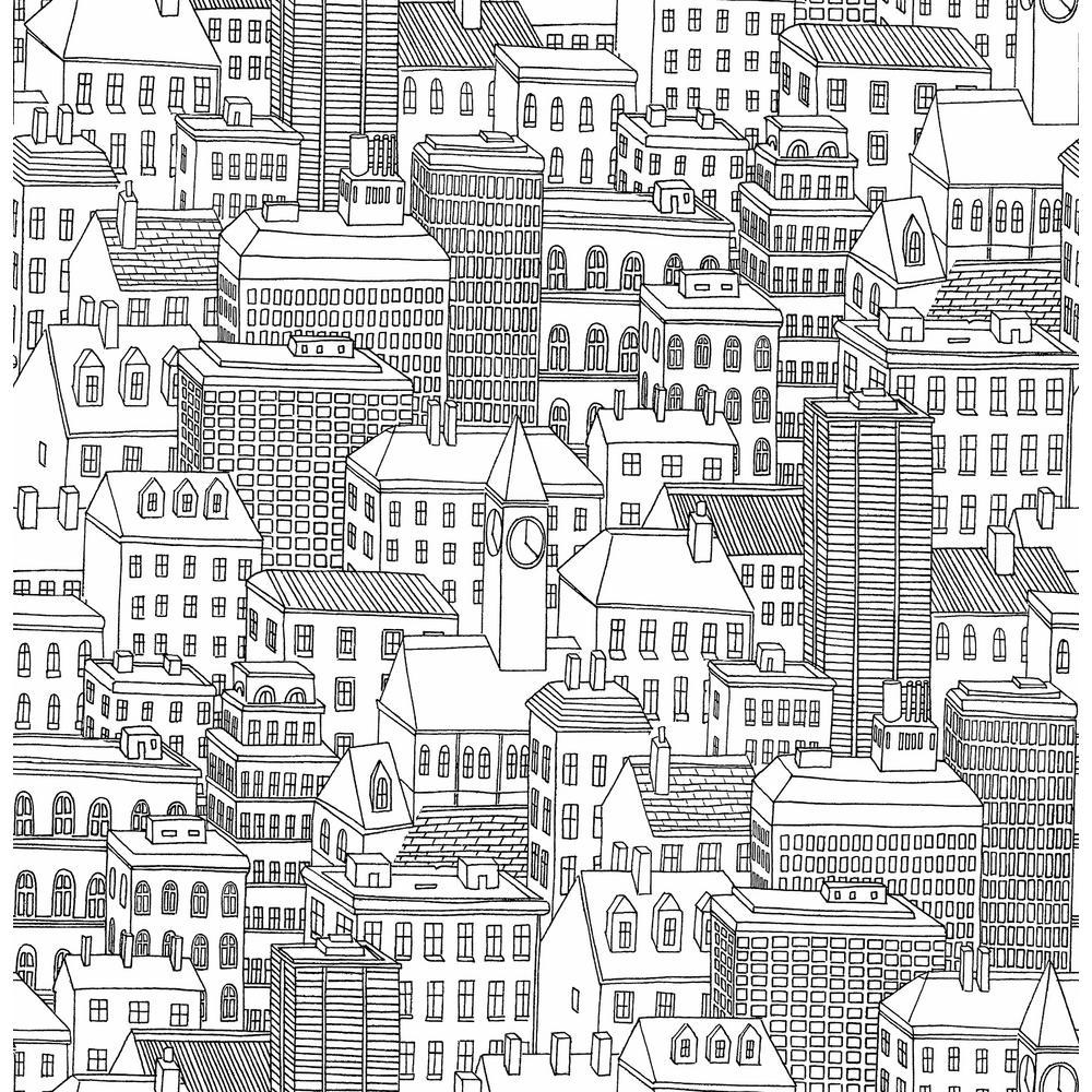 Limelight White City Wallpaper