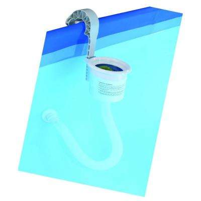 14.25 in. Adjustable Wall Mounted Pool Surface Skimmer