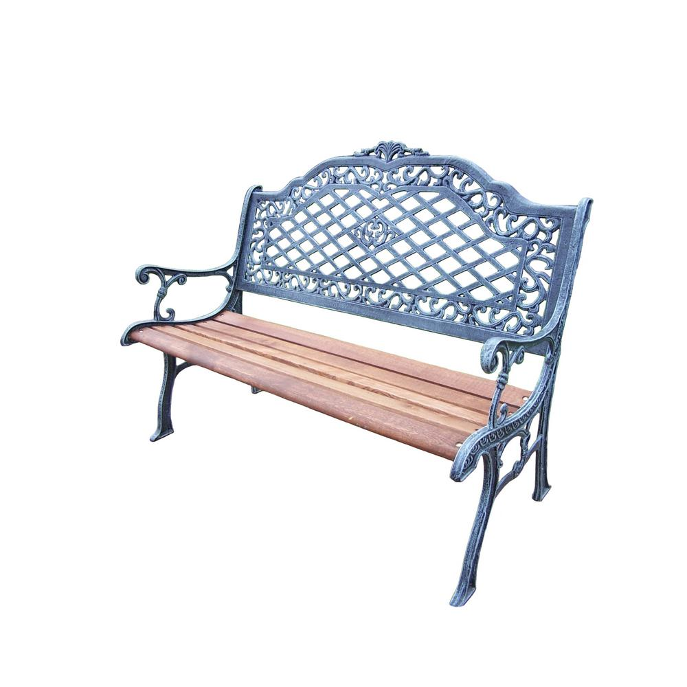 Mississippi High Back Outdoor Bench
