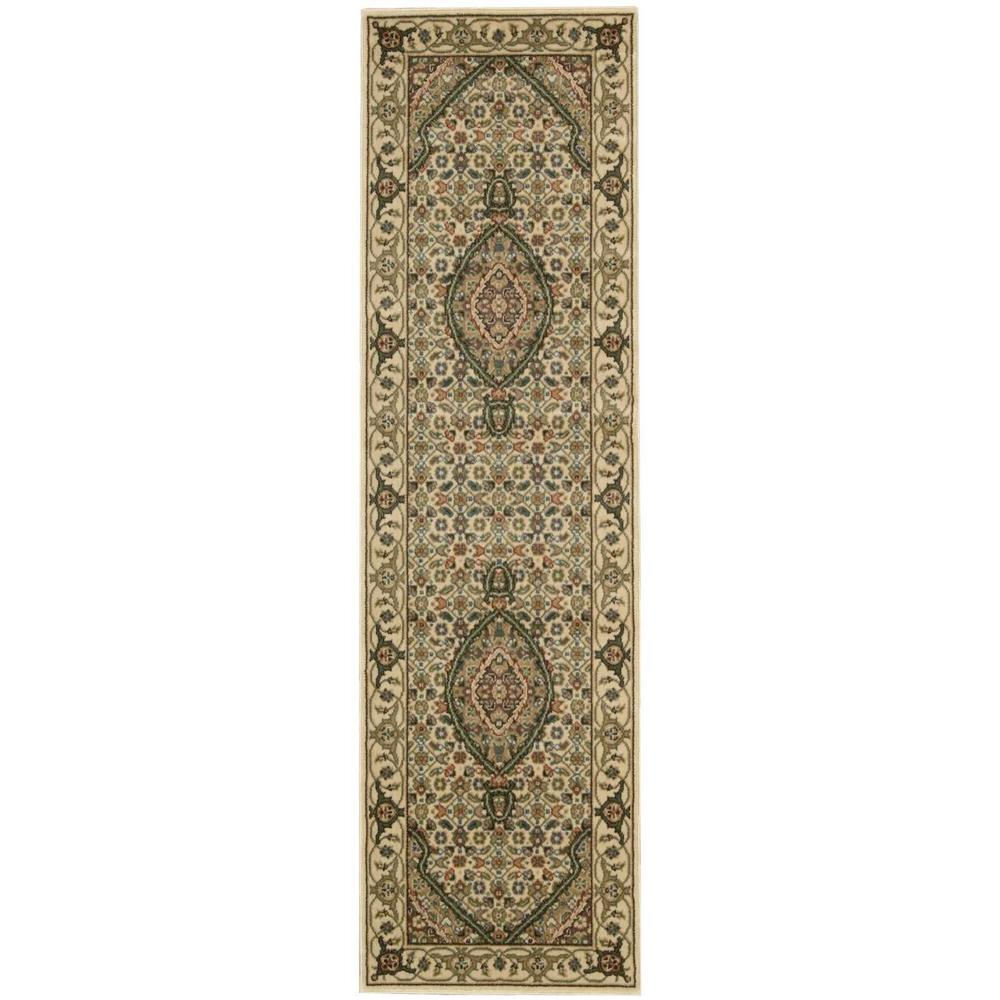Nourison Persian Arts Ivory 2 ft. x 12 ft. Runner Rug