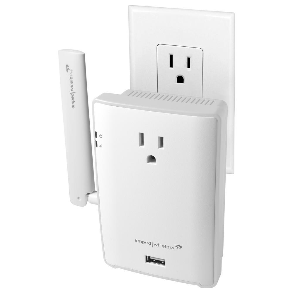 High Power Plug-In AC1200 Wi-Fi Range Extender