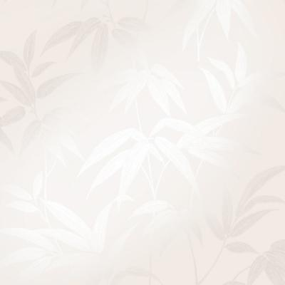 Sasa Beige Bamboo Leaf Wallpaper