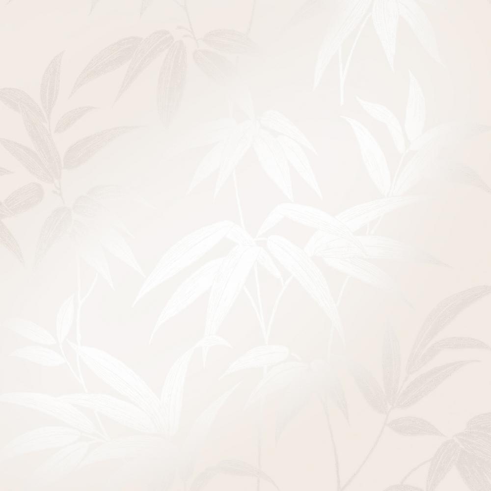 Sasa Beige Bamboo Leaf Wallpaper Sample