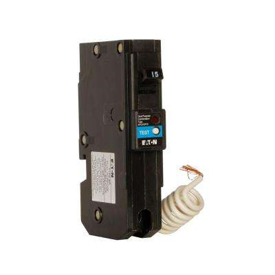 Type BR 15 Amp 1 in. Single-Pole Dual Function Arc Fault/Ground Fault Circuit Breaker