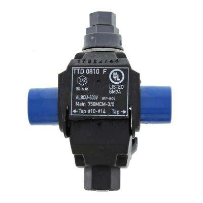 Main 750 - 3/0 AWG, Tap 10-14 AWG B-Tap Connector