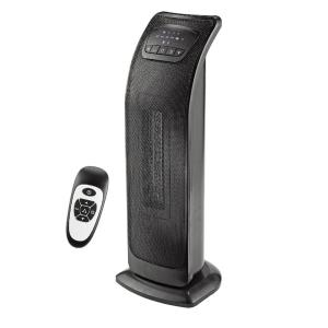 Ecohouzng 23 inch Oscillating Tower Ceramic Heater with Remote by