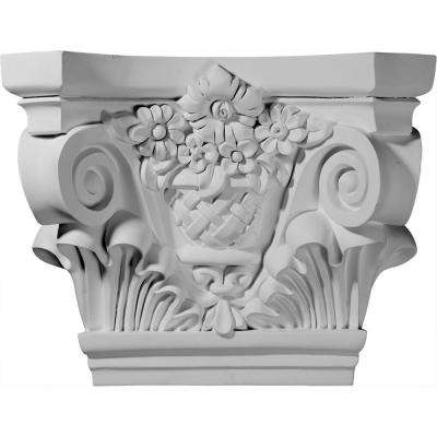 21-5/8 in. x 7-1/2 in. x 16-3/4 in. Primed Polyurethane Sussex Capital