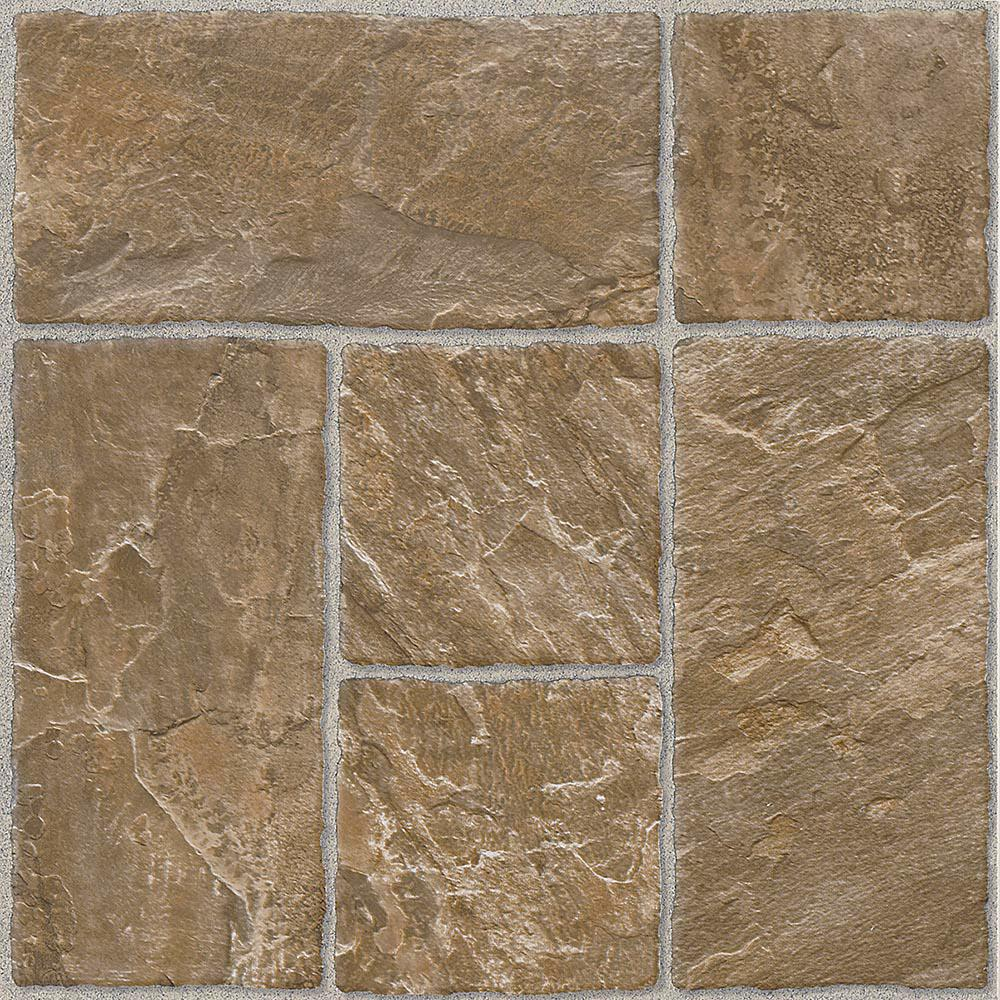 Honey Beige 12 in. x 12 in. Residential Peel and Stick