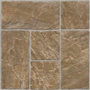Armstrong Honey Beige 12 In X 12 In Residential Peel And