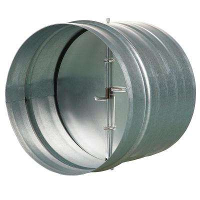 4 in. Galvanized Back-Draft Damper with Rubber Seal