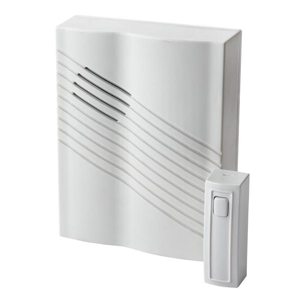 300 ft. Range Wireless Chime with Push Button