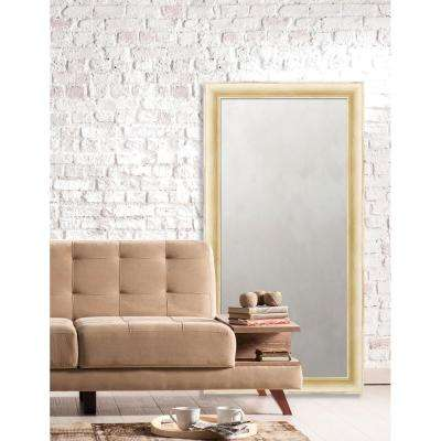 Acadia 25 in. x 49 in. Transitional Framed Antique Mirror