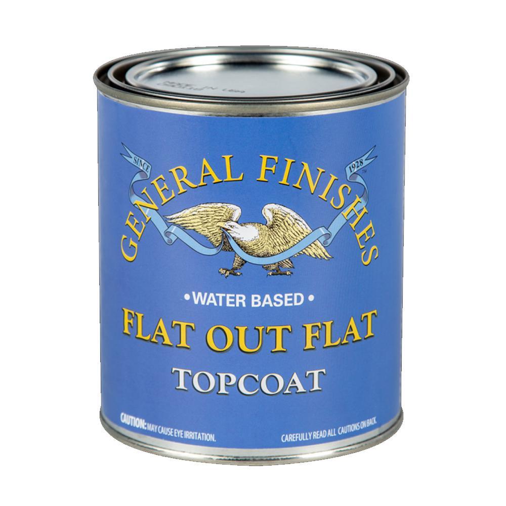 1 qt. Flat Out Flat Acrylic Interior Topcoat