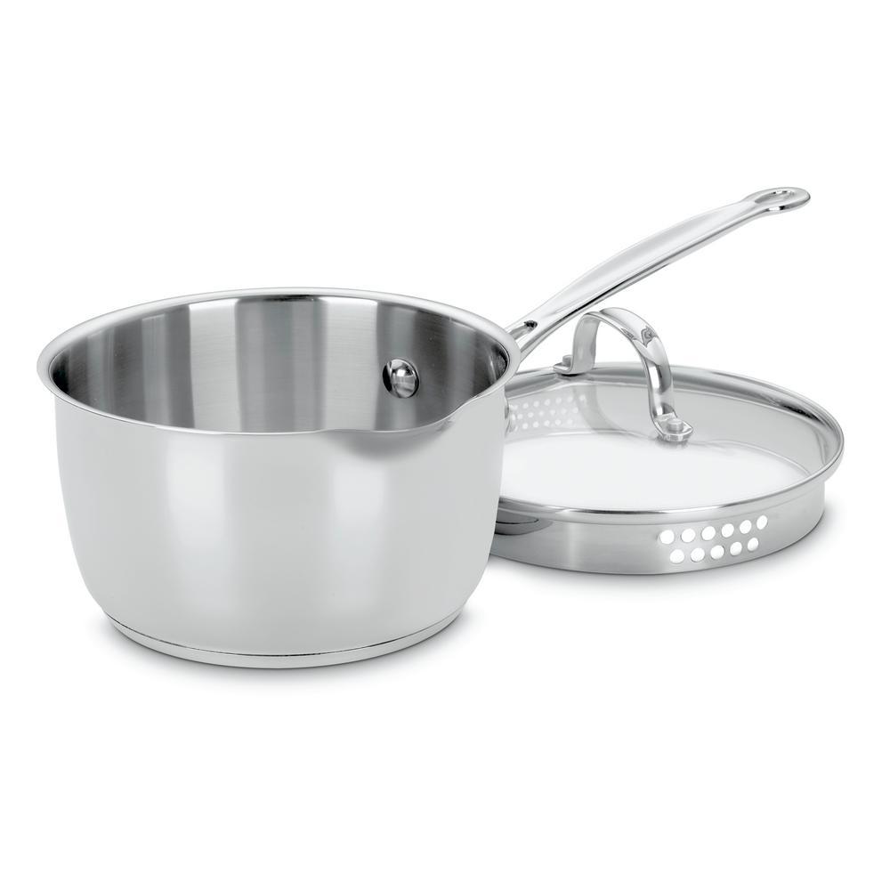 Cuisinart 2 Qt. Stainless Steel Saucepan