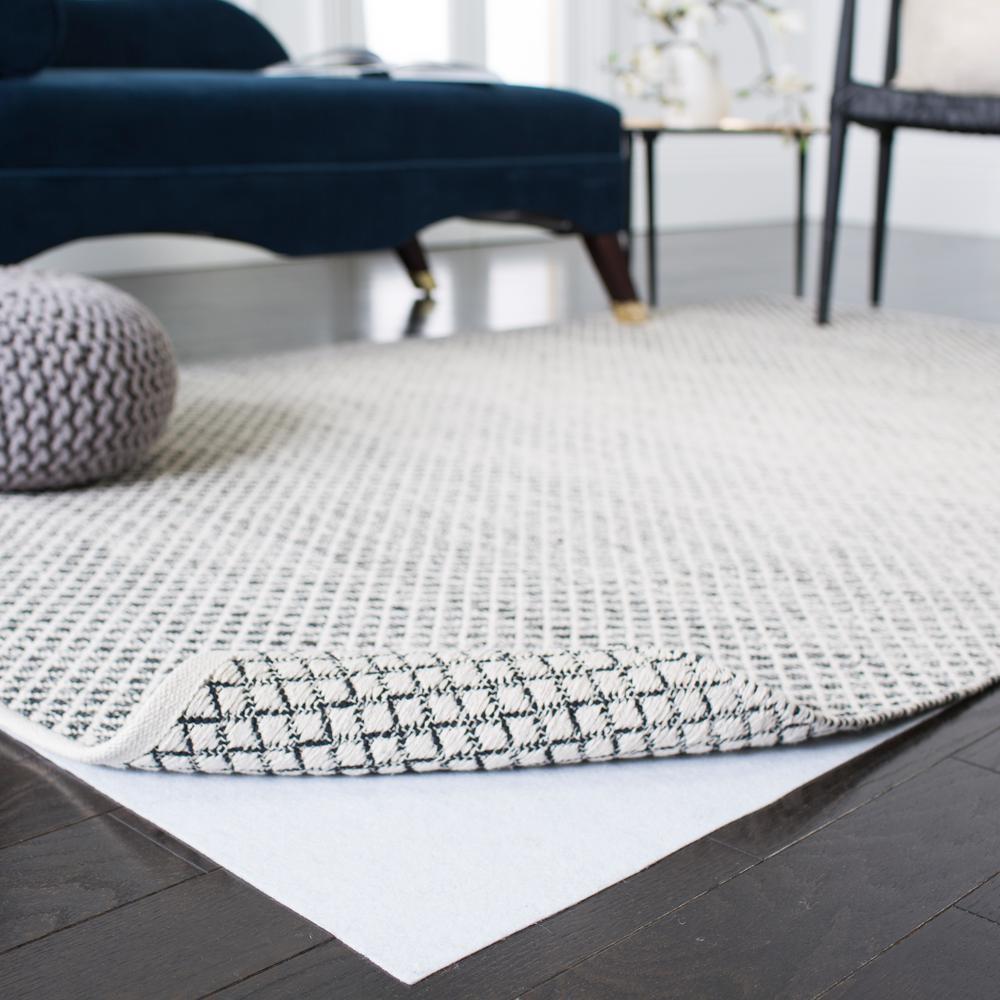Carpet to Carpet White 2 ft. x 4 ft. Rug Pad