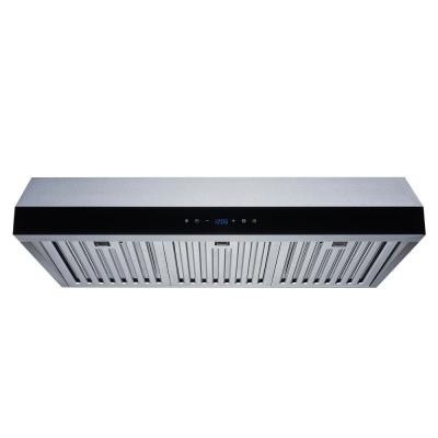 30 in. Convertible 500 CFM Under Cabinet Range Hood in Stainless Steel with Baffle Filters and Touch Control