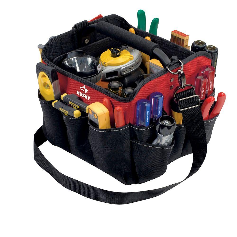 Husky 10 in. All-Purpose Tote