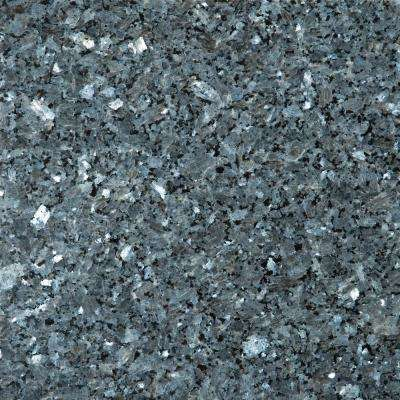 Granite Blue Pearl Polished 12.01 in. x 12.01 in. Granite Floor and Wall Tile