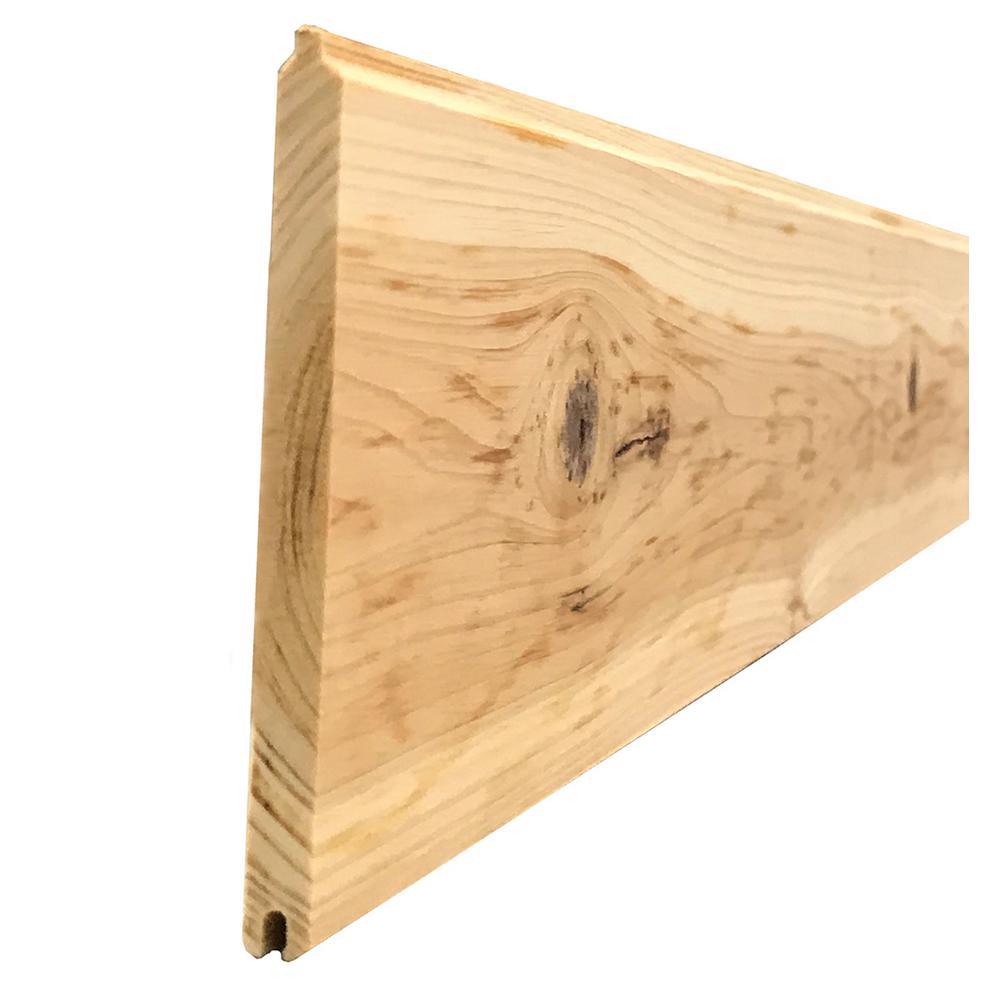 1 4 In X 3 5 In 14 Sq Ft Western Cedar Planks 6 Pack