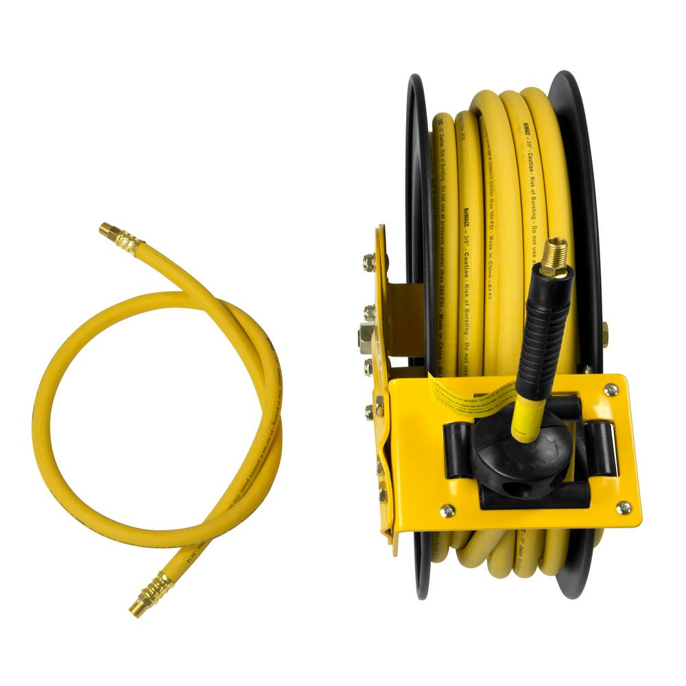 3/8 in. x 50 ft. Single Arm Auto Retracting Air Hose