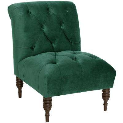 Mystere Jade Tufted Chair