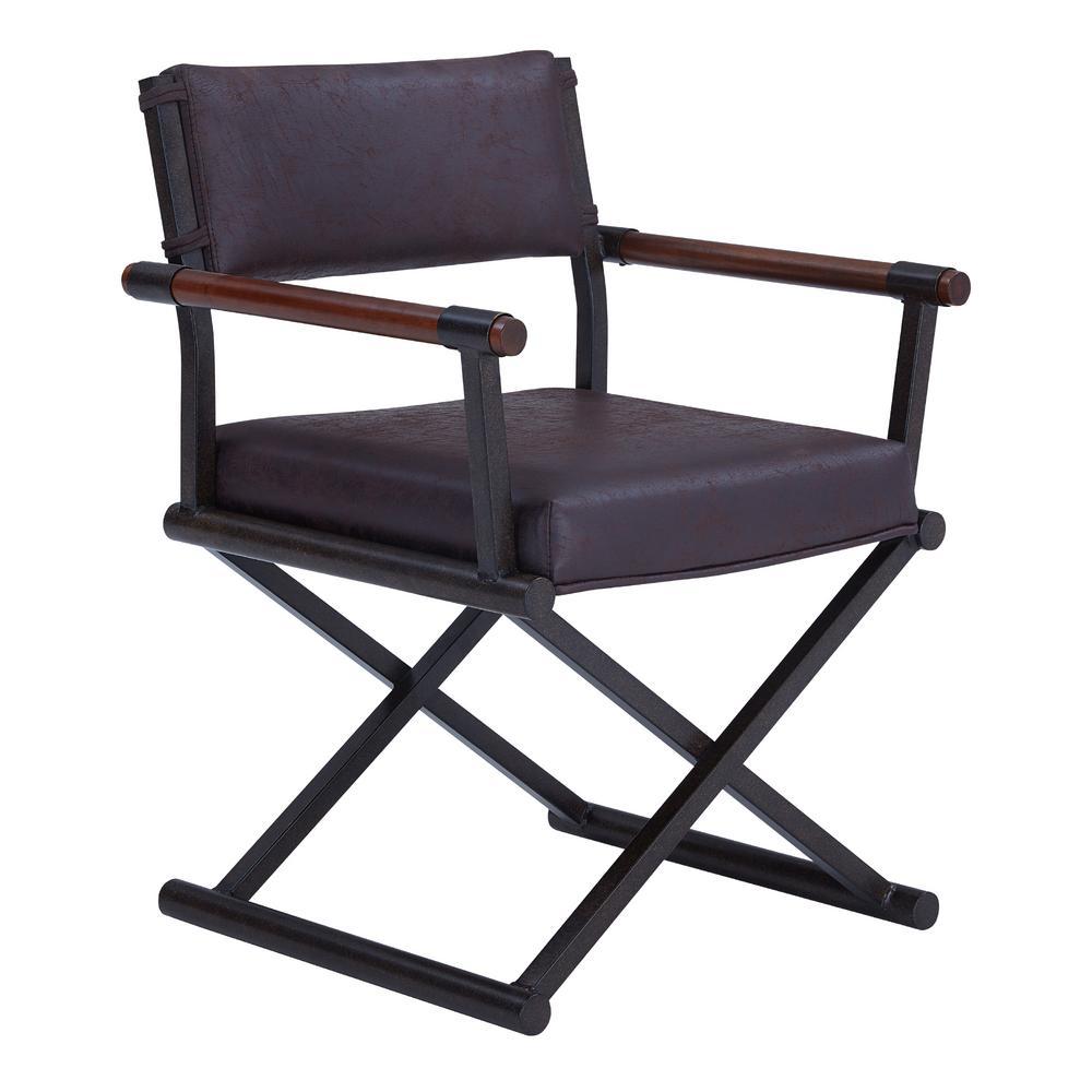 Director Bandero Espresso Fabric Dining Chair
