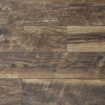 Hillrose Fusion Oak 12 mm T x 6.06 in W x 50.67 in L Water Resistant Laminate Flooring (17.07 sq. ft./case)