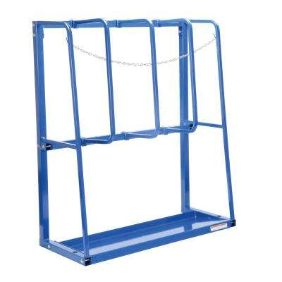 53 in. x 22 in. x 59 in. Expandable Vertical Bar Starter Rack