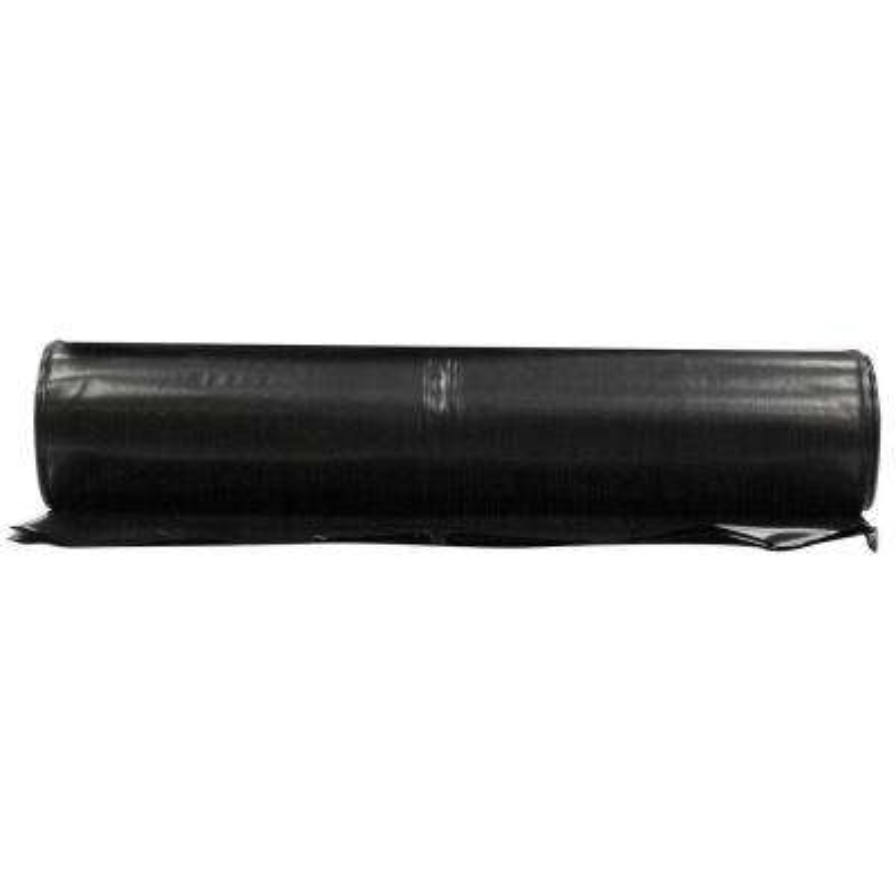 20 ft. x 50 ft. Black 6 mil Plastic Sheeting