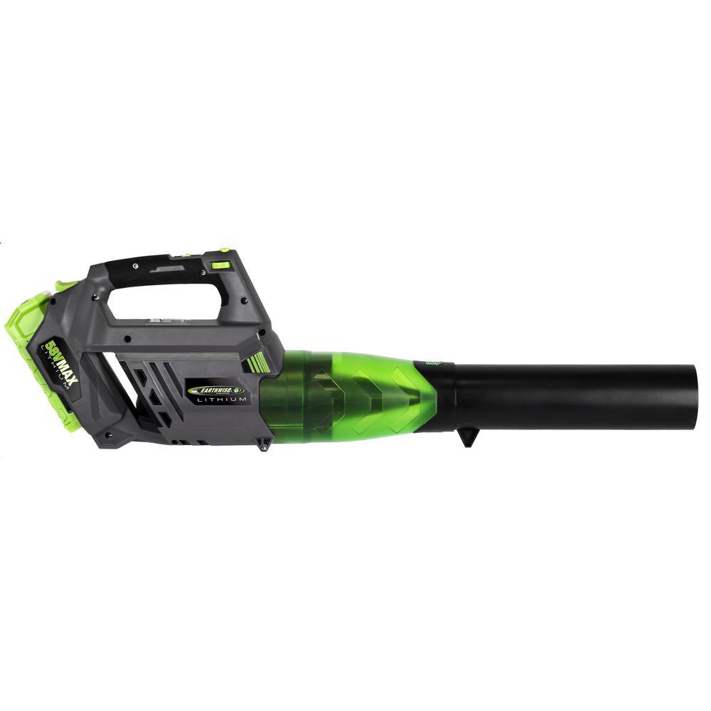 105 MPH 480 CFM 58-Volt Cordless Electric Leaf Blower