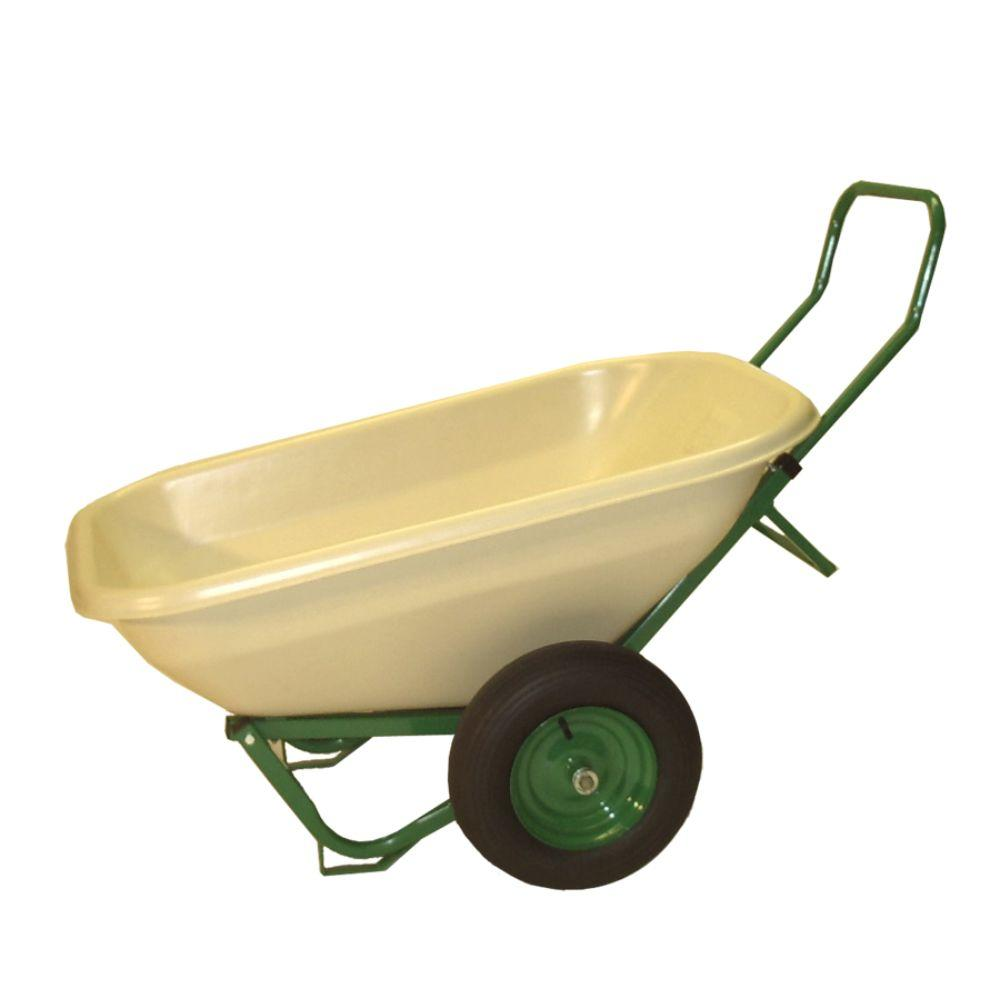 Dandux Loadumper 8 cu. ft. Plastic Wheelbarrow