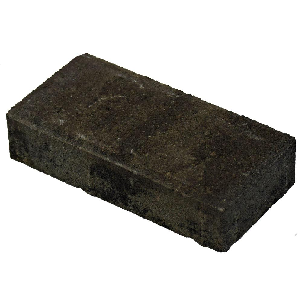 Oldcastle 8 in. x 4 in. x 1.75 in. Gray/Charcoal Concrete Holland Paver (702-Pieces)
