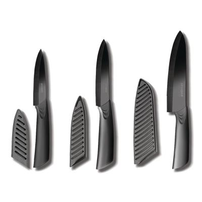 6-Piece Ceramic Knife Set with Blade Covers