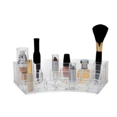 11.22 in. x 4.61 in. x 3.35 in. 19 Section Cosmetic and Jewelry Organizer