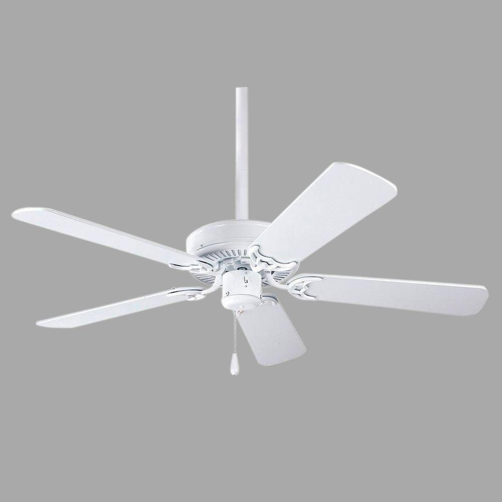 Progress Lighting Airpro Builder 52 In Indoor Brushed Nickel Classic Ceiling Fan Wiring Diagram Without Light P2501 09 The Home Depot