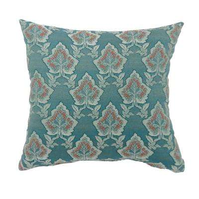 Lulu 22 in. Multicolor Contemporary Standards Throw Pillow (Set of 2)