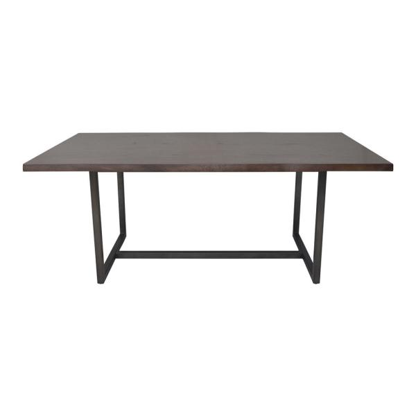 Java Live Edge Brown Dining Table
