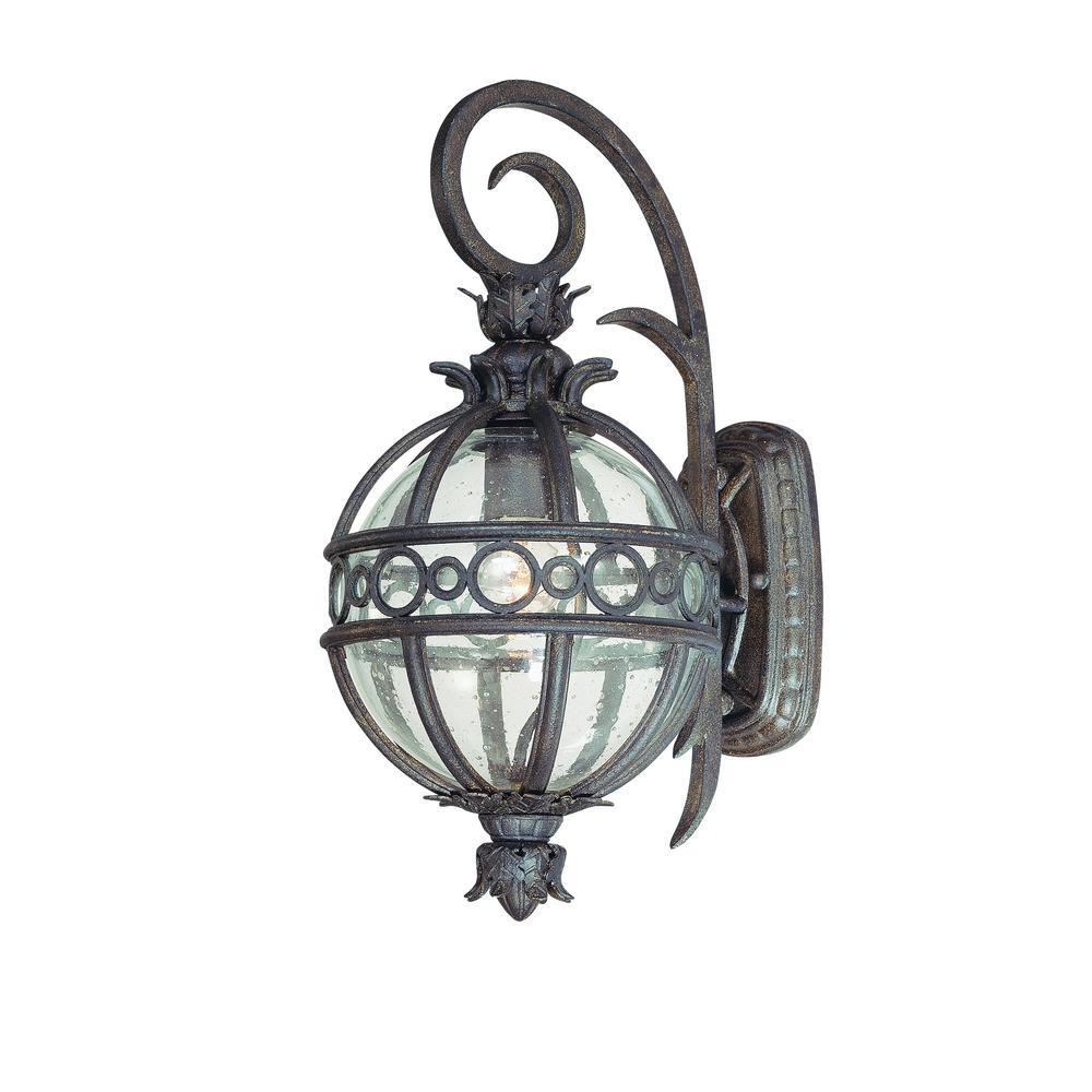 troy lighting campanile bronze outdoor wall mount lantern b5001cb