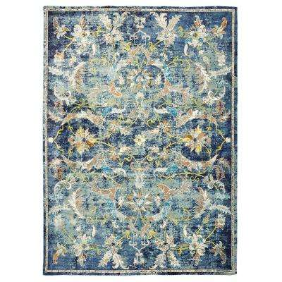 9 X 12 Blue Area Rugs Rugs The Home Depot