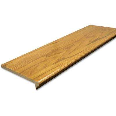 0.625 in. x 11.5 in. x 42 in. Prefinished Marsh Red Oak Retread