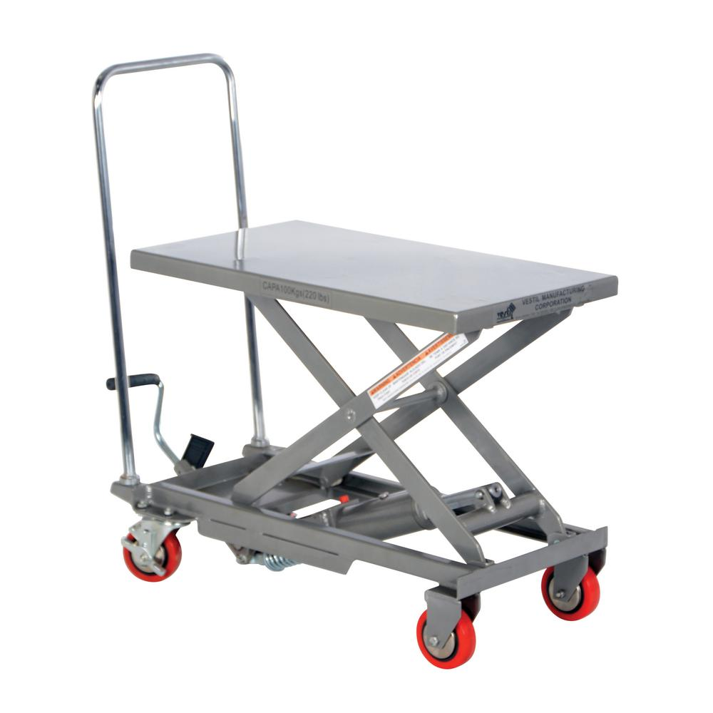Aluminum Elevating Cart