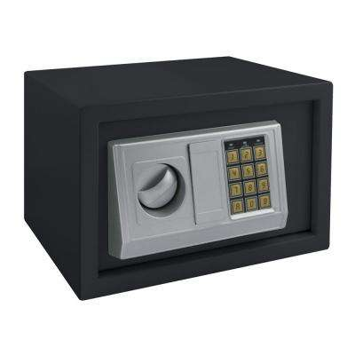Buddy 0.78 cu. ft. Steel Mediuml Home Safe with Electronic Lock, Black