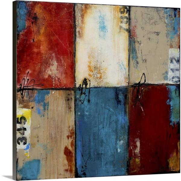 GreatBigCanvas ''Station Square'' by Erin Ashley Canvas Wall Art 2442407_24_24x24